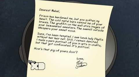 Creepy Letters from Lil Gideon Devoted
