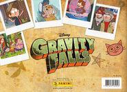 GravityFalls Panini album backcover
