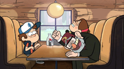 S1e6 laughing at Dipper