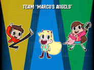 Disney XD Hero Trip team screen