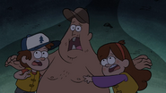 S1e2 dipper mabel and soos frightened