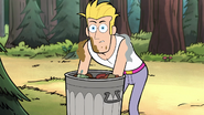 S1e17 pretty boy rooting through trash
