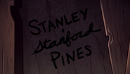 S2e12 Stanley and Stanford Pines