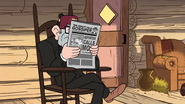 S1e14 Stan reading newspaper