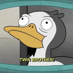Брат-близнец Утка-тива
