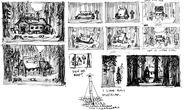 Ian Worrel Concept mystery shack sketches3