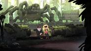 T2e16 Bosque de arañas gigantes