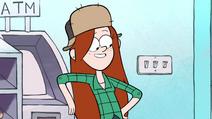 S1e5 Wendy bersandar di ATM