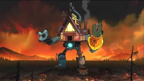 Gravity Falls - Weirdmageddon 3 Take Back The Falls Soundtrack Shacktron Battle