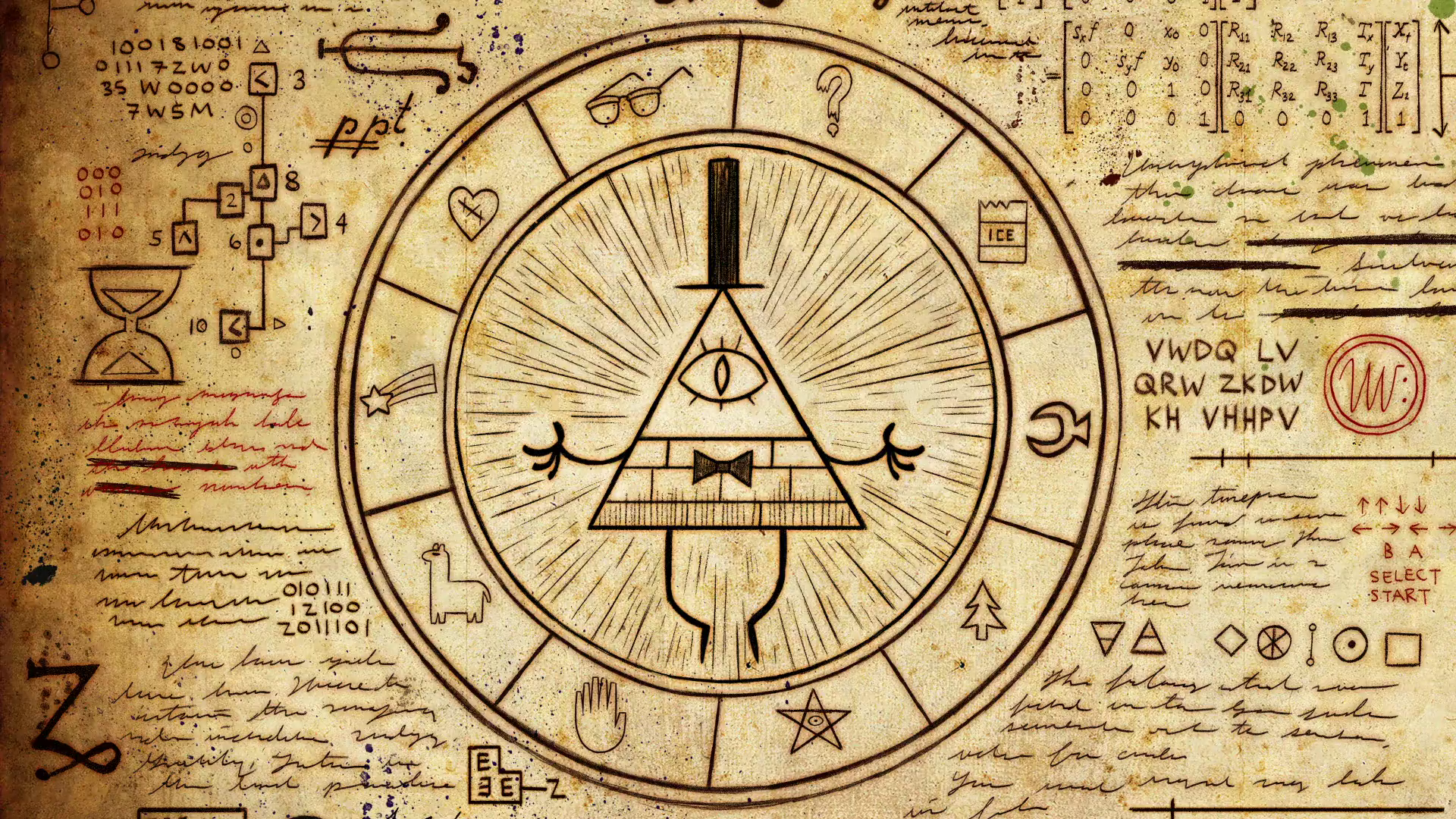 Zodiac Gravity Falls Wiki Fandom Powered By Wikia