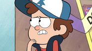 S1e5 dipper is thinking hard