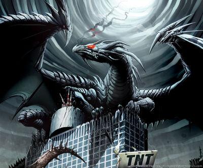 The evil dragono