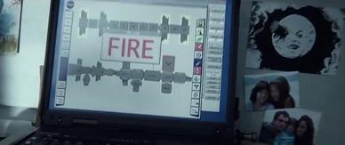 Gravity Space Station Fire Scene HD YouTube