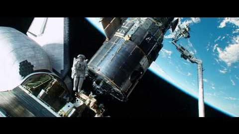 Space debris hits Explorer - Gravity scene