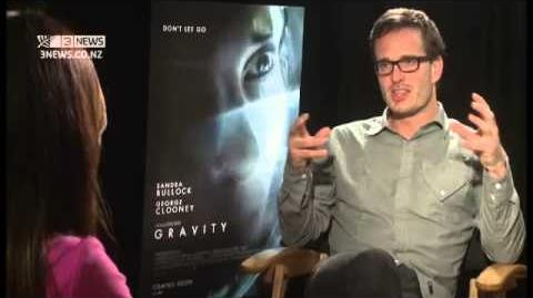 David Farrier interviews Sandra Bullock about GRAVITY