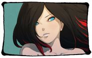 Raven's face in Gravity Rush 2