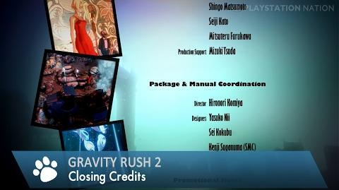Gravity Rush 2 - Closing Credits (A Red Apple Fell From the Sky)