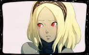 Kat portrait (apprehensive)