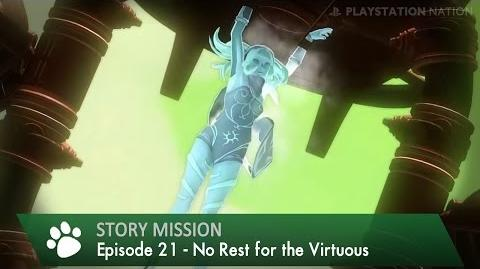 Gravity Rush Remastered - Walkthrough - Episode 21 - No Rest for the Virtuous