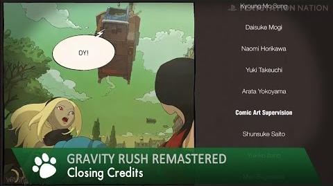 Gravity Rush Remastered - Walkthrough - Closing Credits (Douse Shinundakara)
