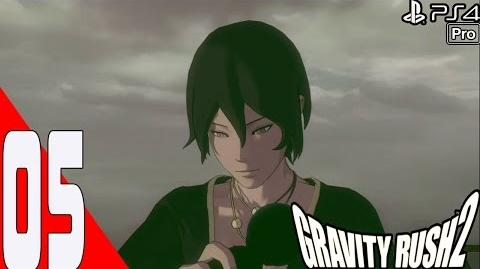 Gravity Rush 2 - Walkthrough Part 5 - Chapter 1 Banga Settlement - Episode 4 A Dog Without a Collar