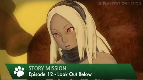 Gravity Rush Remastered - Walkthrough - Episode 12 - Look Out Below