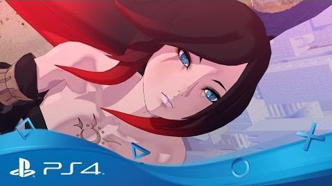 Gravity Rush 2 PSX 2016 Trailer 'The Ark of Time Raven's Choice' DLC PS4