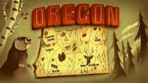 S1e1 gravity falls oregon map