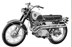 Cool Rider Honda Scrambler