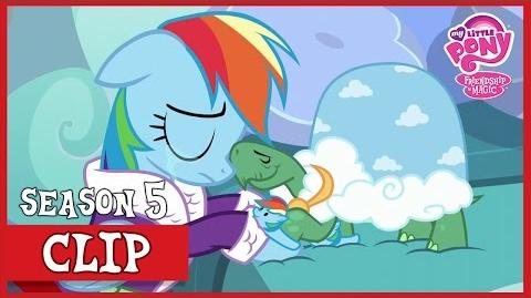 Rainbow Says Goodbye To Tank (Tanks for the Memories) - MLP-Rainbow Dash Says Goodbye to Tank
