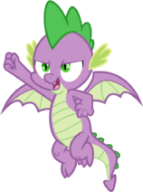 Spike the Dragon (season 8 onward)