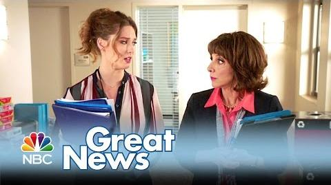Great News - Tina Fey's New Show! (Promo)