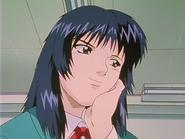 Miyabi Smirking