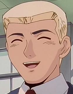 Kunio Laughing