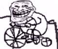Bike troll