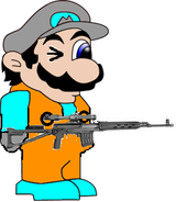 Snipalleo With Sniper