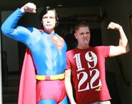 Superman and Stephen