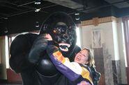 Jennifer Dancing with King Kong