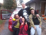 Family to Halloween