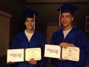 Stephen & Jack Graduation