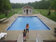Two Girls Was Doing the Pool