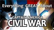 Everything GREAT About Captain America- Civil War!
