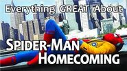 Everything GREAT About Spider-Man- Homecoming!