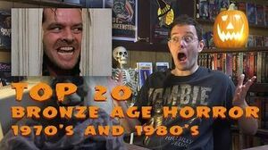 Top 20 Bronze Age Horror - Monster Madness X movie review 25