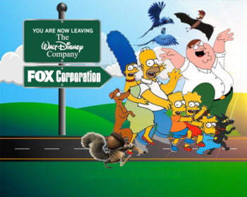 Fox Corporation, here we come!