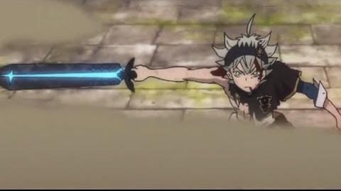 Black clover Asta's New Sword