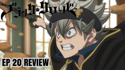 CR Black Clover Ep 20 MIMOSA'S & NOELLE'S FEELING, ASTA PULLS A NARUTO, WIZARD KING AMUSED