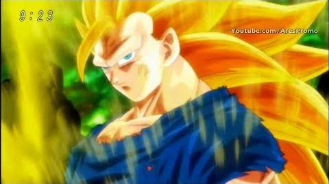 Goku Turns super saiyan 3 - Dragon Ball Super Episode 113 HD