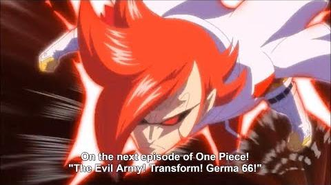 One Piece Episode 839 Preview Germa 66 Transformations