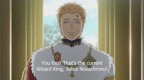 Black Clover Episode 20 - The Wizard King, Julius Novachrono
